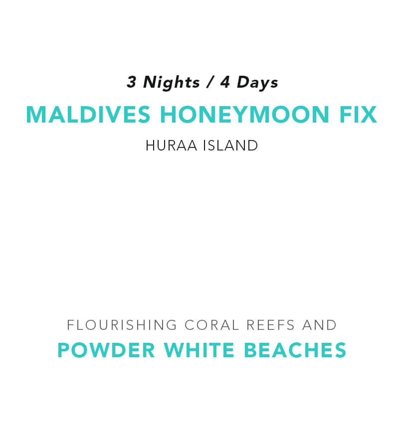 Maldives Honeymoon Fix