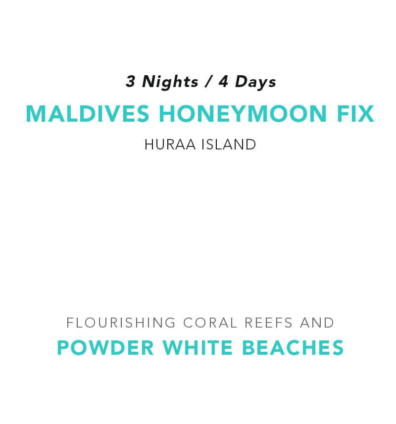 Maldives Honeymoon Fix